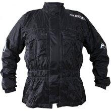 Richa Rain Warrior Over Jacket Black - XS