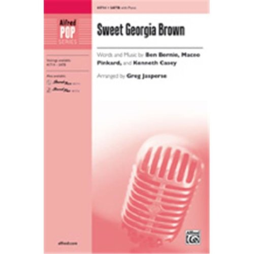 Alfred 00-41715 SWEET GEORGIA BROWN-STRX