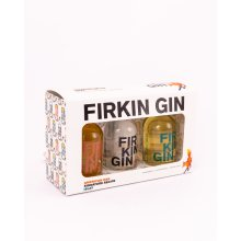 Firkin Gin Miniature Gift Set, 3 x 50ml