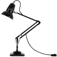 Anglepoise Original 1227 Mini Desk Lamp - Jet Black with Black Cable