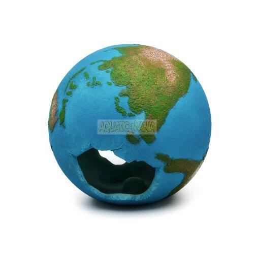 Betta EARTH Globe 12cm Globe Swim-through Aquarium Ornament MS688