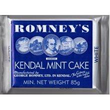 ROMNEYS 85W KENDAL MINT CAKE 85G BAR WHITE