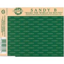 Make The World Go Round - Sandy B CDS - Used