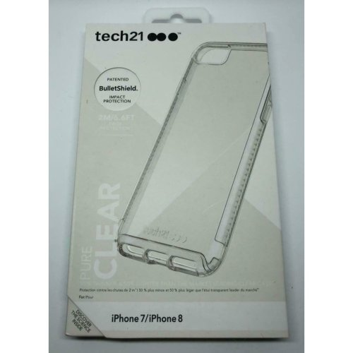 TECH 21 Pure Clear Impact Case iphone 7 / iphone 8 -Clear