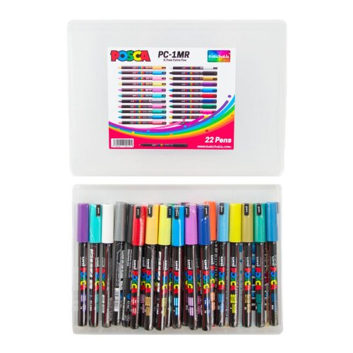 Posca 0.7 mm Extra Fine Markers Mega Pack