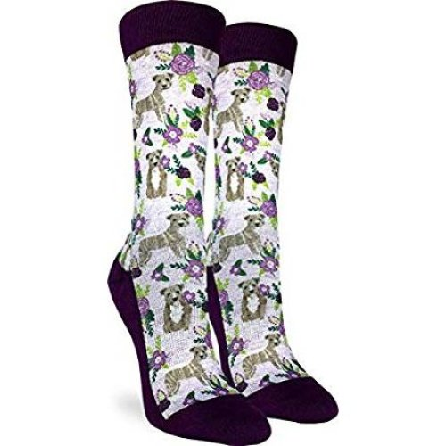 Socks - Good Luck Sock - Women's Active Fit - Floral Put Bull (5-9) 5131