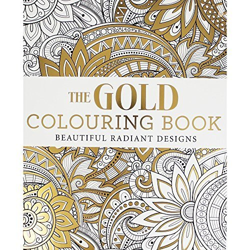 The Gold Colouring Book (Colouring Books)