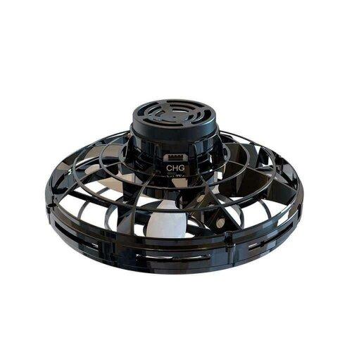 (black) FlyNova Flying Spinner Toy Drone Spinner!