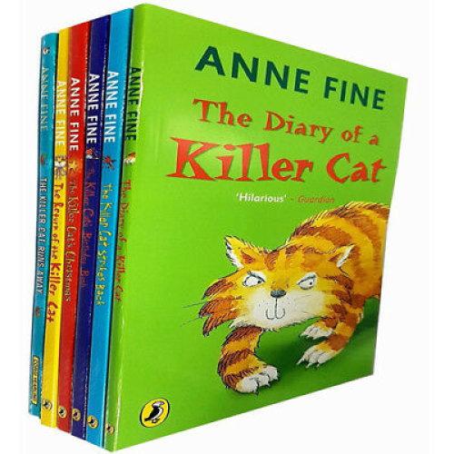 Anne Fine collection 6 books set