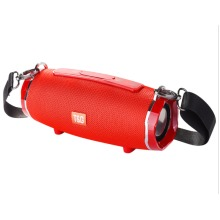 Red high power bluetooth speaker portable PC computer subwoofer boom box