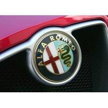 Alfa Romeo Badge Emblem Front + Back 147 156 GT 159 Brera Mito x 2