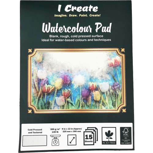 """(I Create Watercolour Pad 