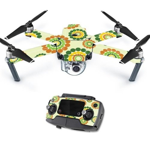 MightySkins DJMAVPRO-Hippie Flowers Skin Decal Wrap for DJI Mavic - Hippie Flowers