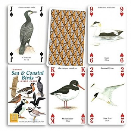 Heritage Playing Cards - Sea and Coastal Birds Playing Cards