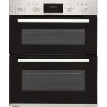 Bosch Serie 4 NBS533BS0B Built Under Double Oven - Stainless Steel