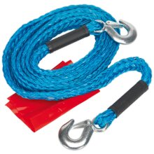 Sealey TH2002 Tow Rope 2000kg Rolling Load Capacity