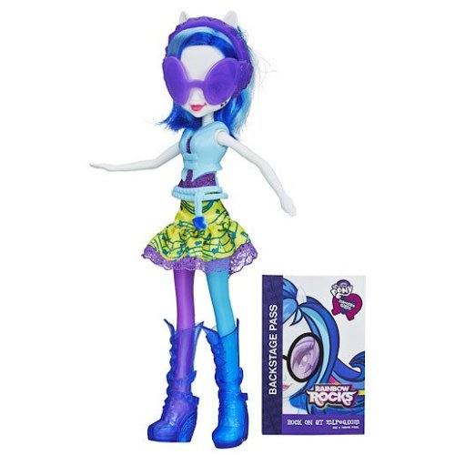 My Little Pony Equestria Girls Doll - Rainbow Rocks  Dj Pon-3