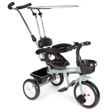 boppi 4-in-1 Grey Trike Tricycle for kids