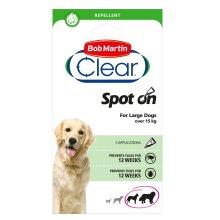 Bob Martin Clear Flea & Tick Spot On For Large Dogs
