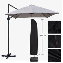 Large Waterproof Parasol Banana Umbrella Cover Outdoor Garden Cantilever Shields