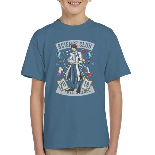 I Love Science Club Kid's T-Shirt