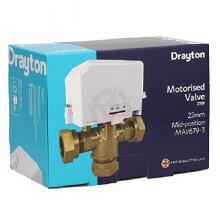 Drayton 27101 22mm 3 Port Motorised Valve