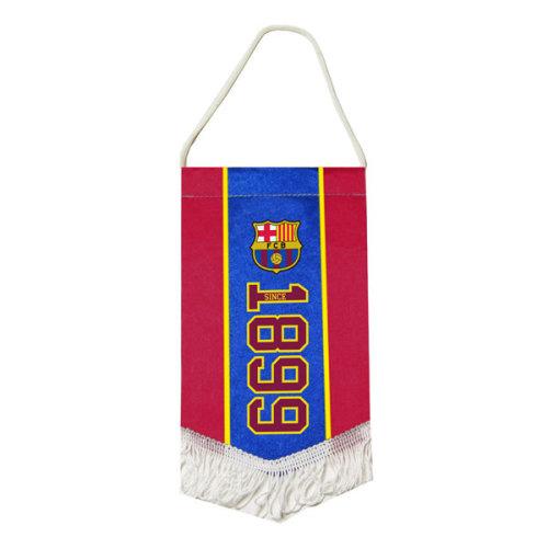 F.c. Barcelona Mini Pennant Official Merchandise - Fc Sn Club Crest Football -  barcelona mini pennant fc official sn club crest football flag