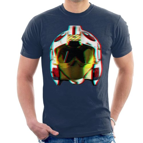 Original Stormtrooper Rebel Pilot Helmet 3D Effect Men's T-Shirt