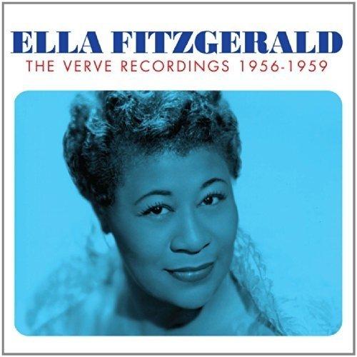 The Verve Recordings 1956-1959 Box Set Audio Cd Ella Fitzgerald