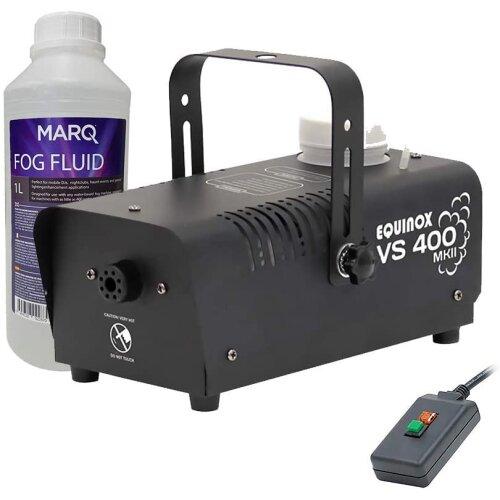 Equinox Smoke Machine With Smoke Fluid Kit   Halloween Fog Machine