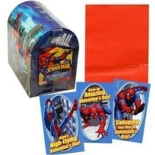 Spiderman Valentines + Keepsake Light up Box