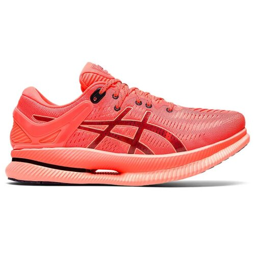(8 UK) ASICS Metaride Men's Road Running Shoes, Sunrise Red/Midnight