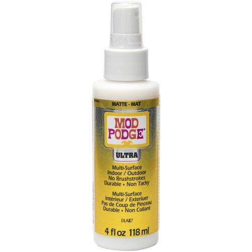 Mod Podge Ultra Matte Spray On Sealer-4Oz