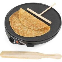 Giles & Posner 1300 W Electric Non Stick Plate Crepe Maker Pancakes