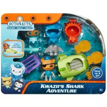 Octonauts Gear Up and Go - Kwazii's Shark Adventure Playset