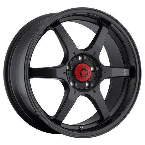 Konig K17-BC7S514355 17 x 7.5 in. Backbone Matte Black Wheel Rim