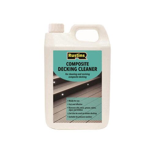Rustins Composite Decking Cleaner 4 litre CDECL4000