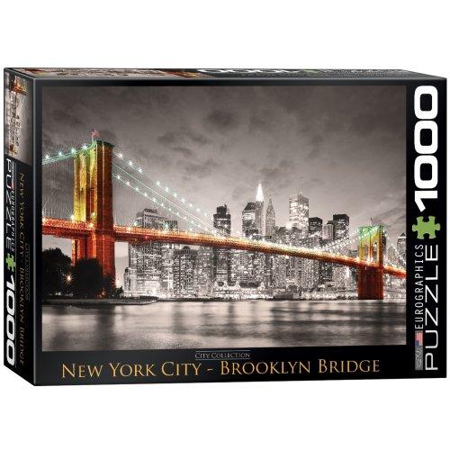 Eurographics City Collection New York City Brooklyn Bridge 1000pc Jigsaw
