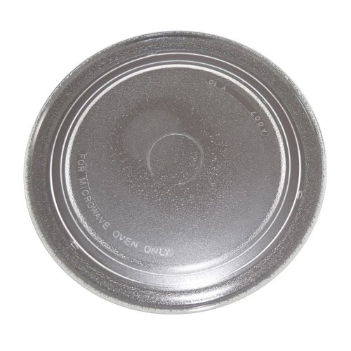 Microwave Glass Turntable 272mm Flat Fits Sharp Universal