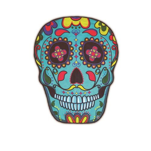 Beach towel sugar skull skull Mexico towel sheets approx 150 cm Size