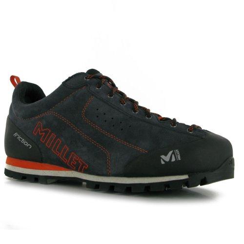 Millet Friction Mens Walking Shoes Trainers Grey Footwear Sneakers