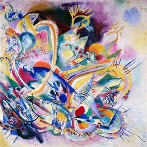 Improvisation Painting Poster Print by Wassily Kandinsky, 12 x 12 - Small