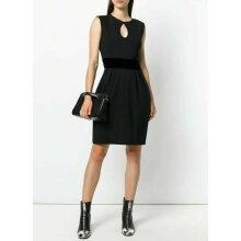 Womens Diesel D-Kelsey Black Velvet Waist Dress Size XS 160 Euro