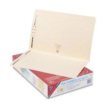 Smead 19513 Folders  Two 2   Capacity Fasteners  Straight Cut  Top Tab  Legal  Manila  50/Box