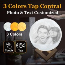 customized-photo-moon-lamp-personalized-kids-wifes-gifts-night-light-usb-charging-tap-control-2-3-colors-lunar-light Customized 3 COLORS