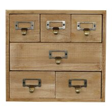 6 Drawer Storage Unit, Trinket Drawers