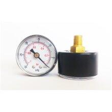 "Vacuum Gauge 40mm Dial -30""Hg/-1 Bar 1/8 BSPT Back Connection"