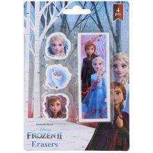 Frozen eraser multicolor 4 pieces