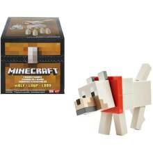 Minecraft Wolf Fusion Figure