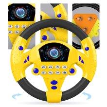 Children Musical Developing Educational Toys Simulation Steering Wheel